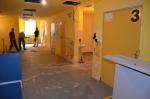 Rekonstrukce recepce a čekárny gastroenterologie v jablonecké nemocnici