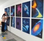Výstava energických obrazů v jablonecké nemocnici