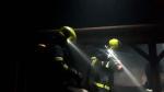 Požár v areálu vratislavického pivovaru