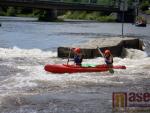 Deváťáci z tanvaldské sportovky splouvali Vltavu
