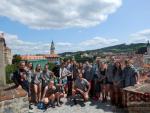 Deváťáci z tanvaldské sportovky jezdili na Vltavě