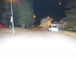 Nehoda cyklisty v ulici Průmyslová v Jablonci nad Nisou