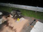 Řidička nedala na Rádelské křižovatce přednost a skončila mimo silnici
