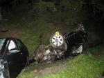 Nehoda dvou vozidel na Rádelské křižovatce
