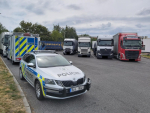 Dopravně bezpečnostní akce zaměřená na nákladní a autobusovou dopravu