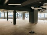 Současný stav interiéru nové budovy, která se otevře v listopadu 2020