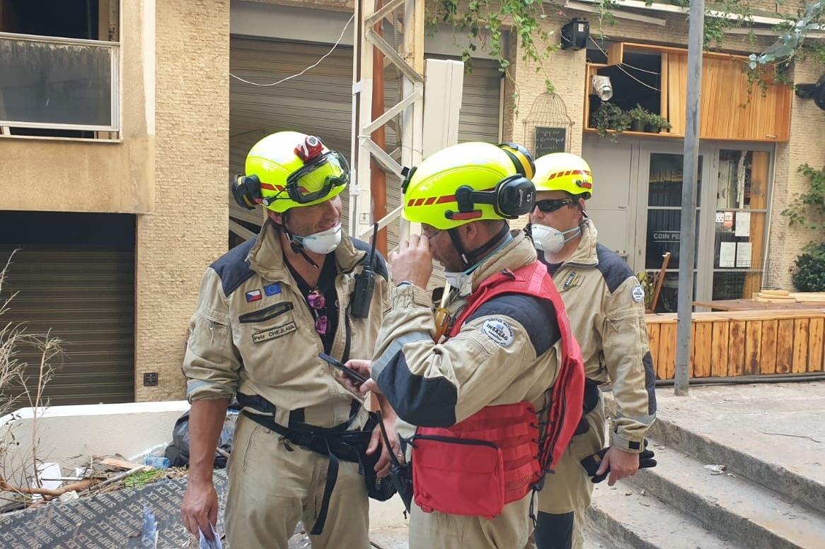 Zahraniční mise USAR týmu v libanonském Bejrútu<br />Autor: HZS Libereckého kraje