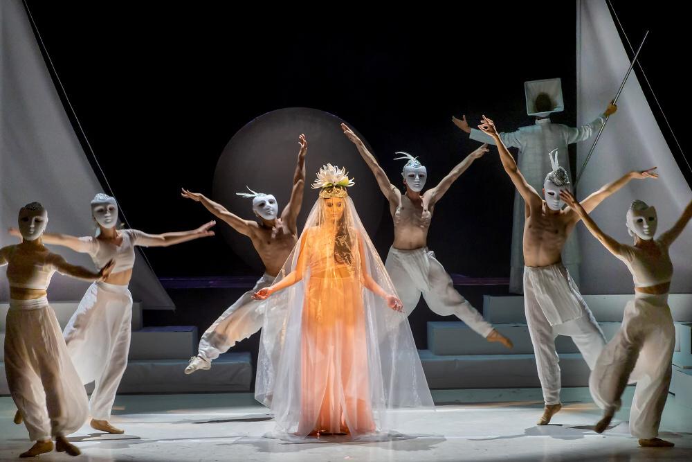 Opera Lovci perel od Georgese Bizeta v libereckém divadle<br />Autor: Archiv Divadlo F. X. Šaldy