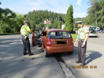 Bezpečnostně-dopravní akce policistů zaměřená na silnici Malá Skála - Železný Brod - Loužnice