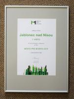 Diplom Město pro byznys 2020