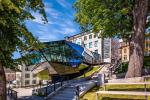 Přístavba jabloneckého muzea nazvaná krystal
