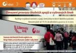 Omezení v jízdním řádu autobusů