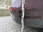 Nehoda dvou osobních aut na parkovišti ve Velkých Hamrech