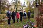 Pietní akt u příležitosti Dne vzniku samostatného československého státu na Masarykově třídě v Liberci