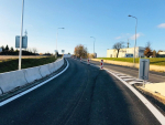 Rekonstruovaná okružní křižovatka v libereckých Kunraticích