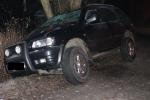 Nehoda řidiče s vozidlem Opel Frontera ve Velkých Hamrech