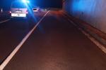 Nehoda na silnici první třídy číslo 10 ve směru od Železného Brodu do Splzova