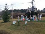 Vánoční betlém i stromek v Loužnici