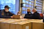 Rozvoz respirátorů do sociálních zařízení v Libereckém kraji