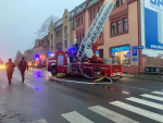 Požár obytného domu v jabloneckých Vrkoslavicích