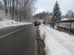Dopravní nehody v Podhorské ulici v Jablonci nad Nisou