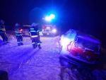 Nehody po sněhové nadílce