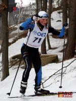 Markéta Davidová na závodech v Jablonci 2011
