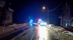 Ledovka zkomplikovala dopravu, kvůli nehodě uzavřeli silnici u Loužnice