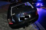 Nehoda kamionu a dalších tří aut u Loužnice