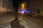 Nehoda dvou aut v prostoru jablonecké křižovatky ulic SNP a Podhorská