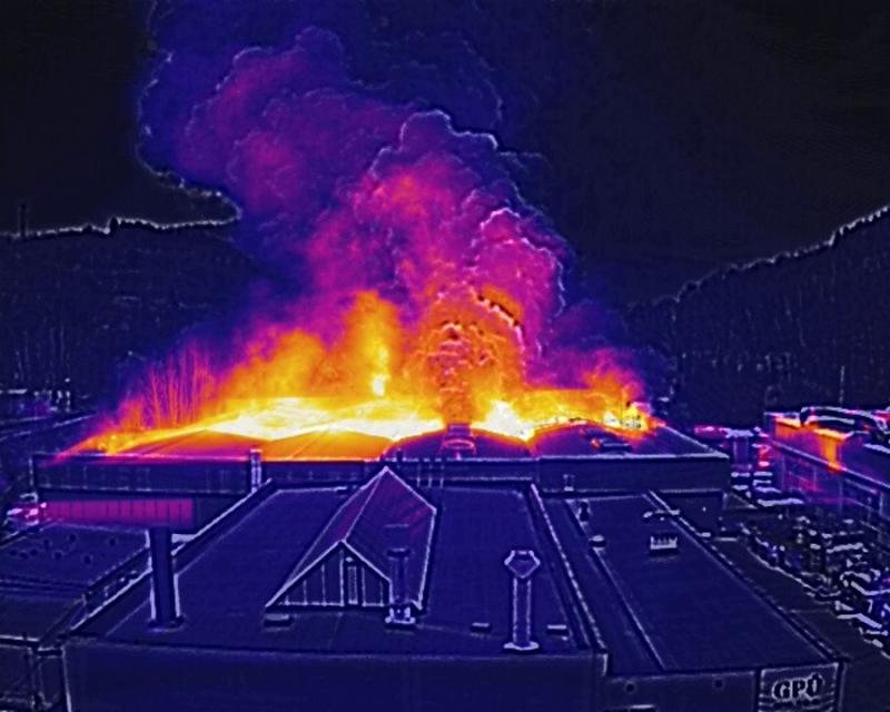 Fotografie z dronu<br />Autor: Archiv HZS Libereckého kraje