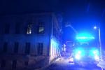 Požár neobydleného domu v obci Pěnčín, části Huť