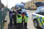 Policisté předávali materiály s policejní tématikou do nemocnic