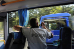 Dopravně bezpečnostní akce s využitím služebního autobusu