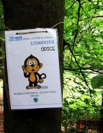 Zábavná stezka Cvičíme se zvířátky v Srnčím dole v Jablonci