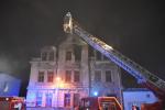 Požár domu v jablonecké ulici Svatopluka Čecha