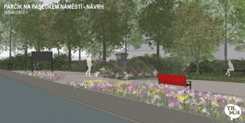 Prezentace a vizualizace rekonstrukce parku v Jabloneckých Pasekách