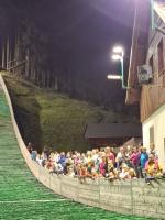 Týden skoků na lyžích v Desné - exhibice