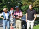 Turnaj dvou seniorských družstev Jablonce a České Lípy ve hře mölkky