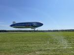 Zeppelin ZF brázdí nebe nad Českem, proletí i nad Jabloncem