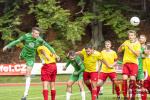 Utkání krajského přeboru FK Velké Hamry B - TJ Desná