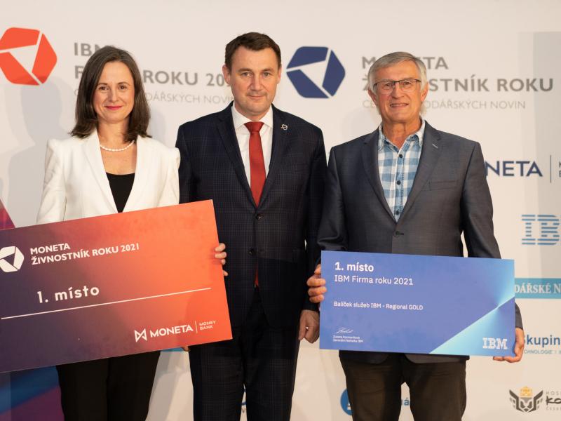 Předávání cen pro Firmu roku a Živnostníka 2021 v Libereckém kraji<br />Autor: David Pavlát