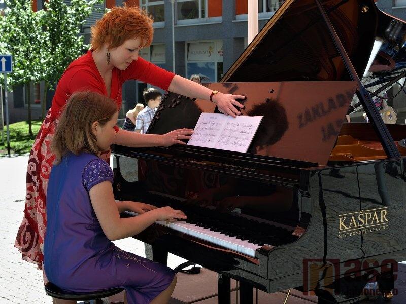 Klavírní koncert žáků ZUŠ Jablonec