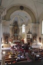 Koncert ZUŠ v kostele sv. Václava v Rychnově u Jablonce n.N.