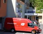 Hokejisté pražské Slavie trénovali v okolí jabloneckého Hotelu Břízky