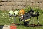 Názorná ukázka hasičského vybavení