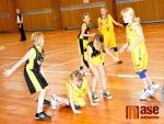 První mistrovská výhra nejmladších basketbalistek