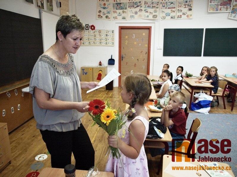 Poslední den před prázdninami žáků 1.a na 2. ZŠ Liberecká