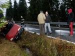 Hasiči zabránili ekologické havárii na Souši