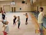 OBRAZEM: Letní soustředění gymnastek v jablonecké hale